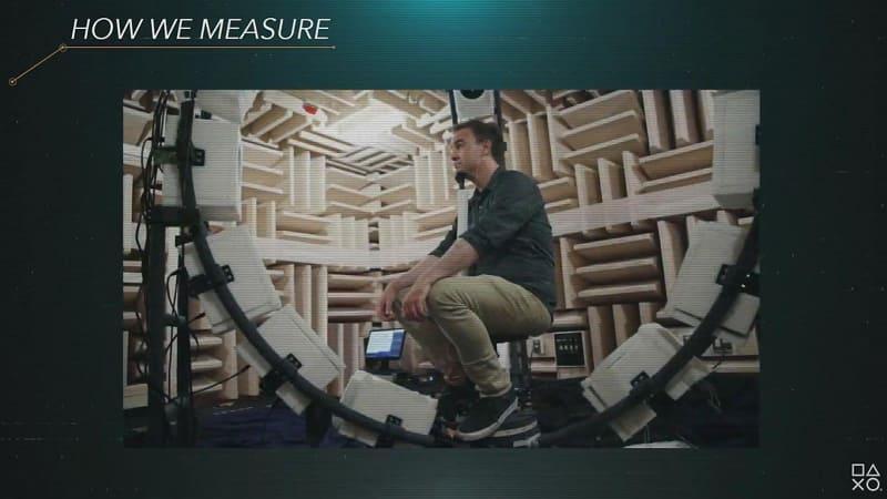 頭部伝達関数(HRTF)を測定し、それを再生環境に組み込む
