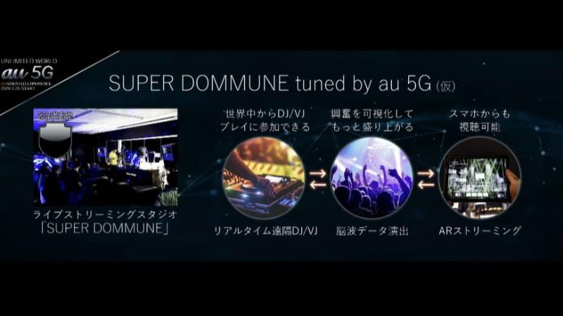 配信型スタジオ「SUPER DOMMUNE tuned by au 5G (仮)」を渋谷パルコ内にオープン予定