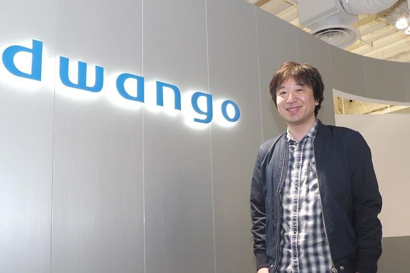 ドワンゴ専務取締役 COO兼niconico代表の栗田穣崇氏