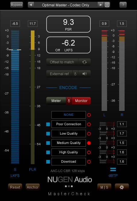 NEUGEN Audio「MasterCheck Pro」