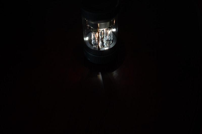 ゆったり光る時も、激しく光る時もある