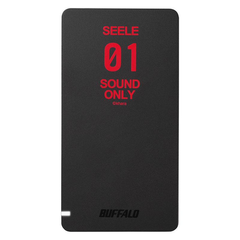 480GBのポータブルSSD「SEELEモデル」SSD-PGM480U3/EVA