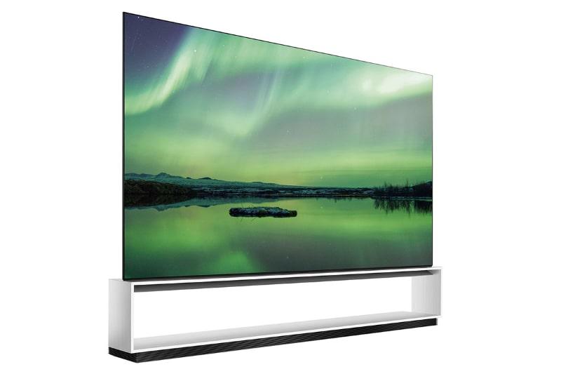 8Kチューナーを内蔵した、LGの88型テレビ「OLED 88ZXPJA」