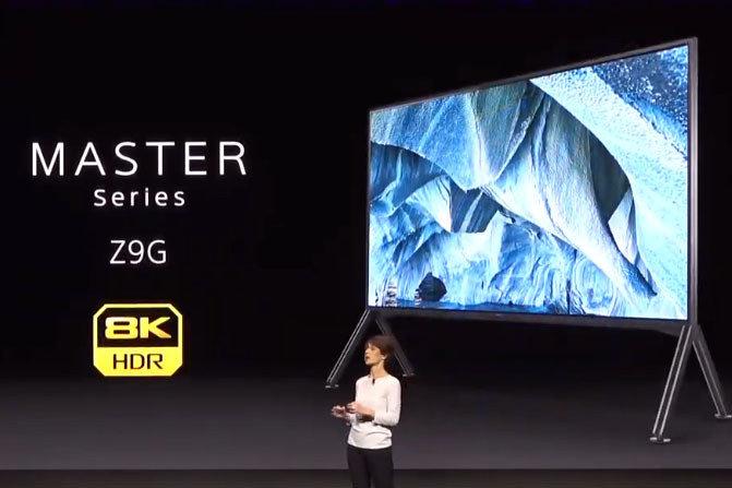 CES2019で北米などへの投入が発表された「Z9G」