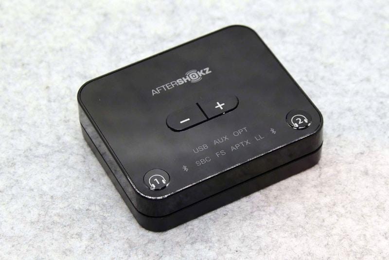 ボリュームボタンも搭載したトランスミッタ