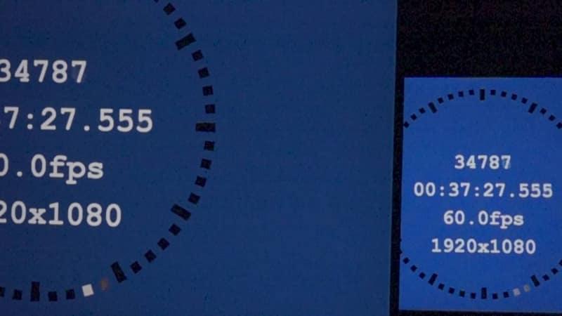 1画面表示モード/画調モード「シネマ」