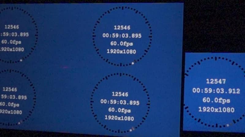 4画面表示モード/画調モード「FPS」