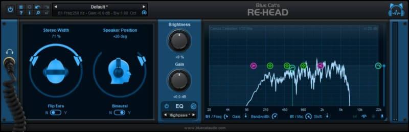 IRデータを読み込ませることで、音響空間や機材の音の特性も再現可能