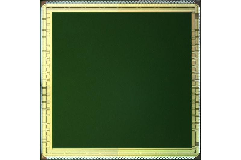 世界初100万画素SPADイメージセンサー