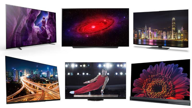 '20年5月以降、テレビメーカー6社から、全14シリーズ・30機種の4K/8K有機ELテレビが発売される