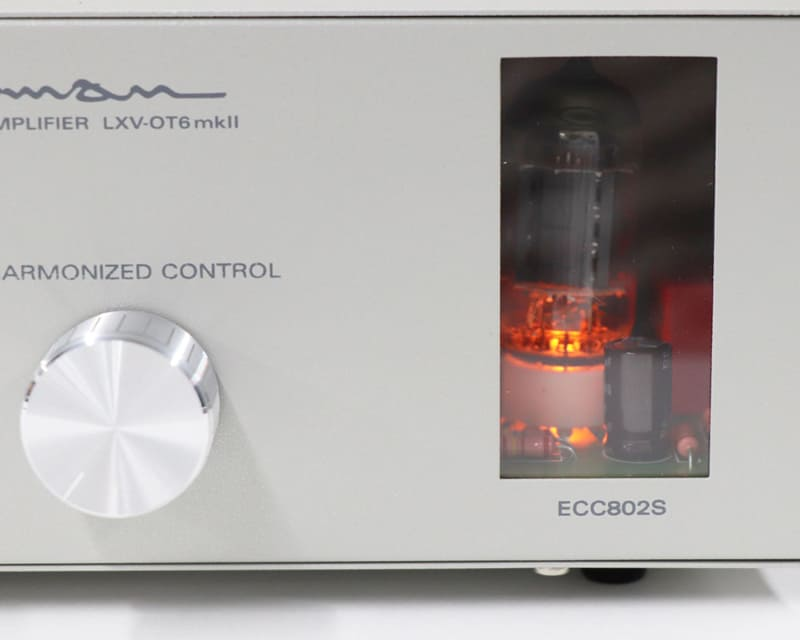 mkIIではスロバキア製JJ高信頼管「ECC802S」を採用