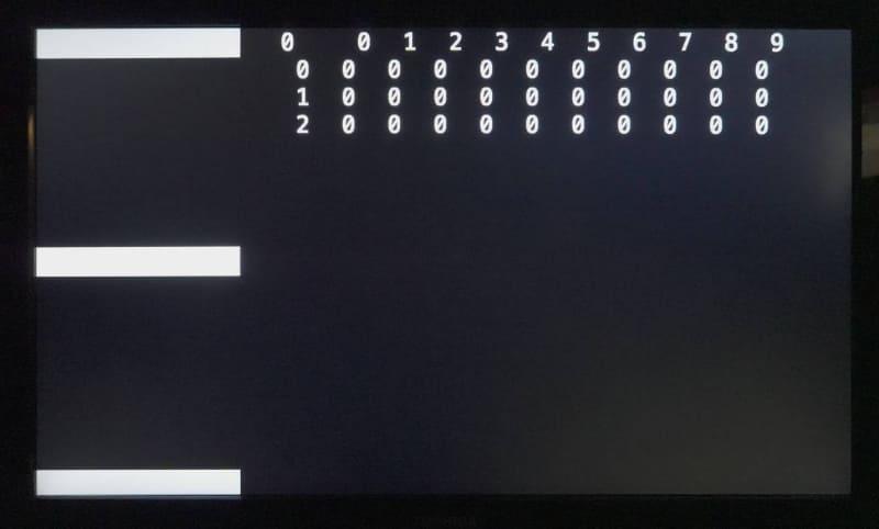 古めのレグザを計測しようとすると、4K Lag Testerの測定映像がバグってしまう。なぜ!?