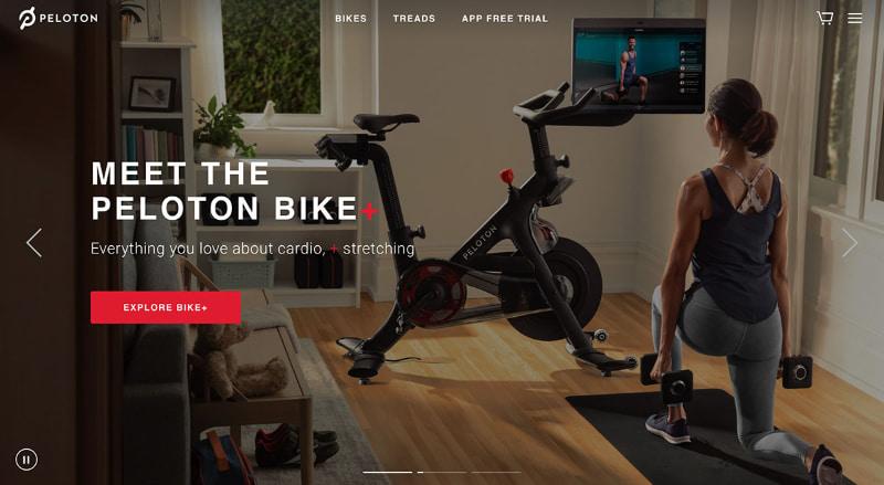 アメリカでヒットしているオンラインフィットネスサービス「Peloton」
