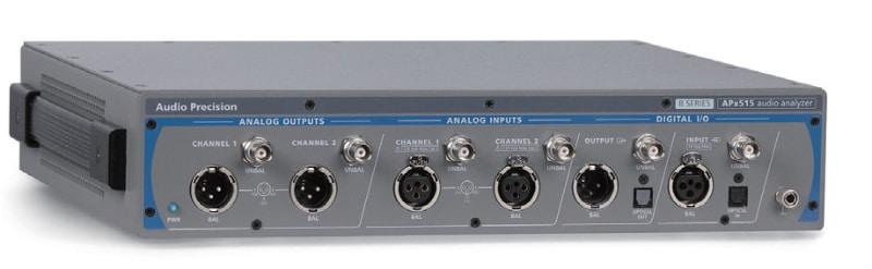 2chのコンパクトなオーディオアナライザ「APx515B」