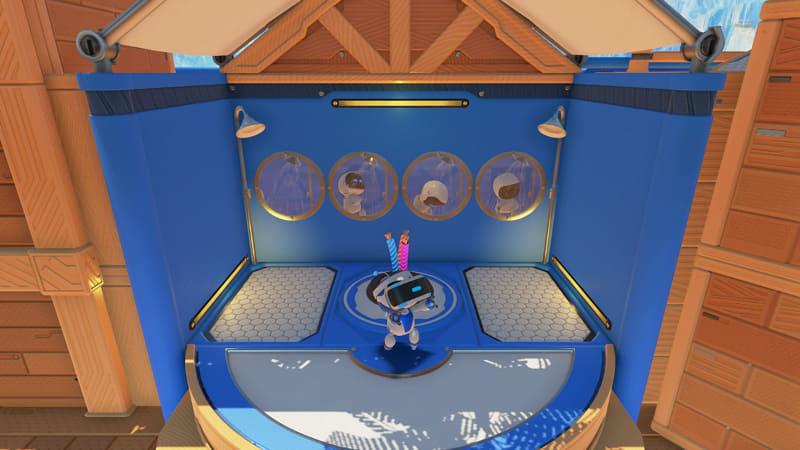 PS5にバンドルされる「ASTRO's PLAYROOM」。コントローラーから3Dオーディオ、高速読み込みまで、まさにPS5のショーケースのような作りのゲームになっている