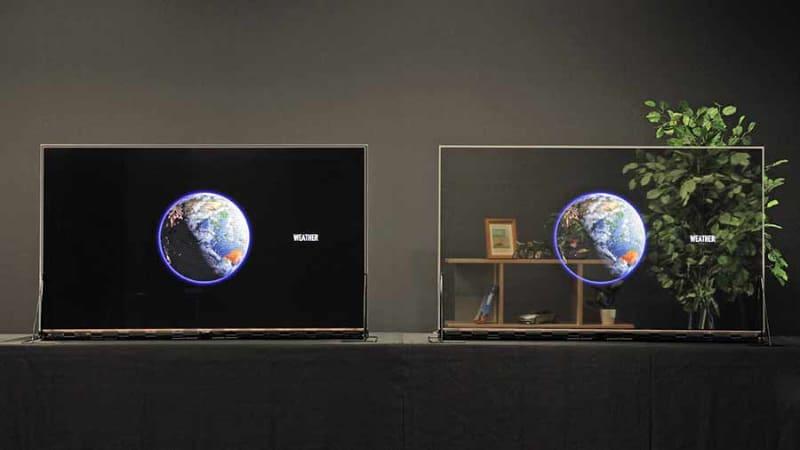 独自の調光ユニットを搭載したモデル(左)と調光ユニットなしのモデル(右)を発売する