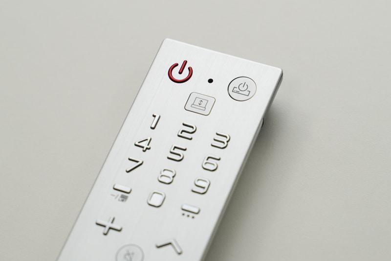 テレビマークのボタンが、立ち上げ用のボタンだ