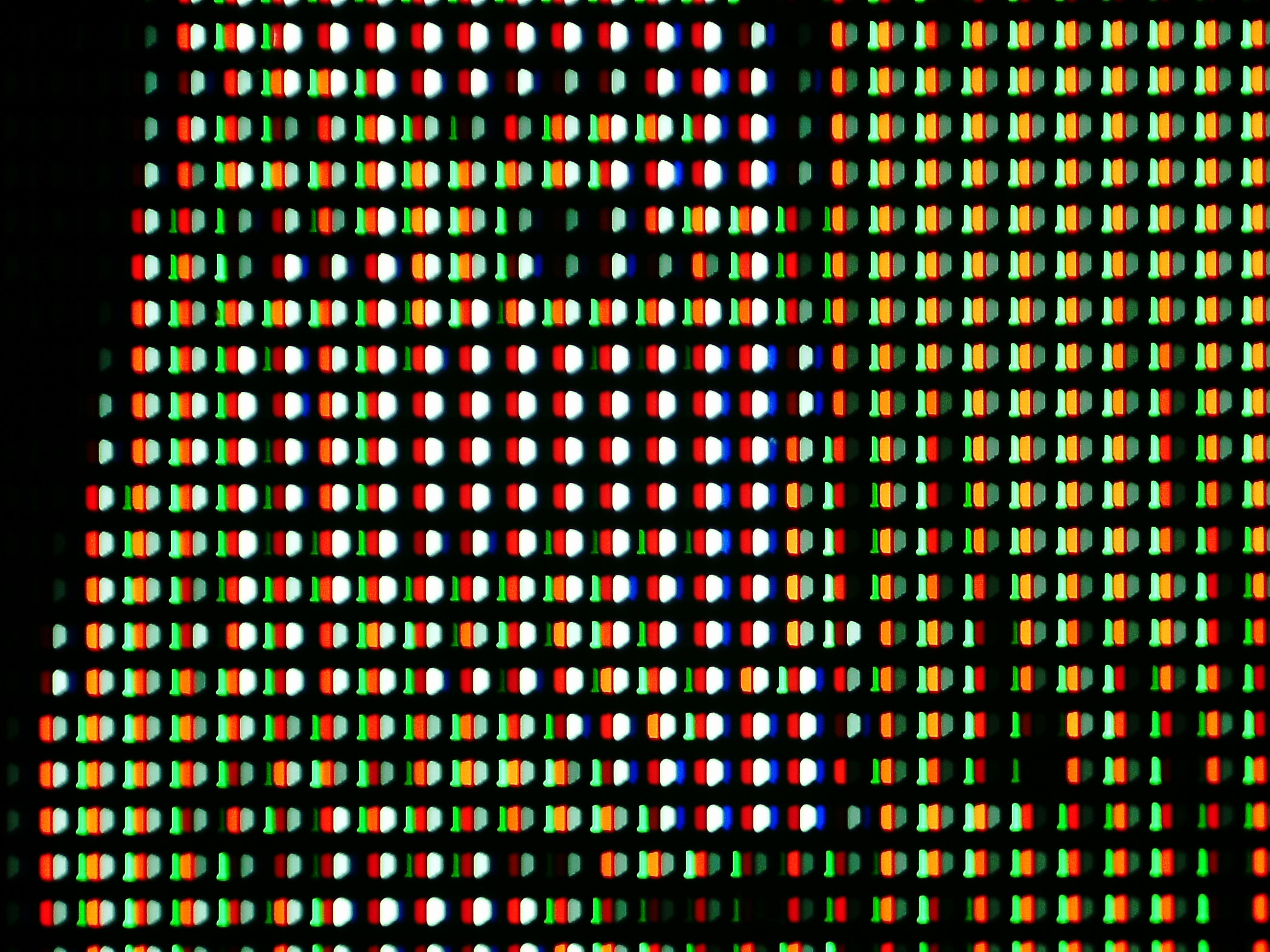 サブピクセルの光学30倍拡大顕微鏡写真
