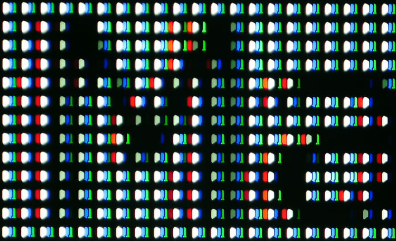 ピュアダイレクトON。画像データとしてはこの表示が伝送されている