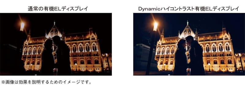 見え方の違いを表したイメージ比較