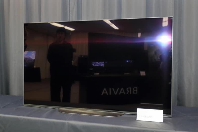 ソニーの48型4K有機ELテレビ「BRAVIA KJ-48A9S」