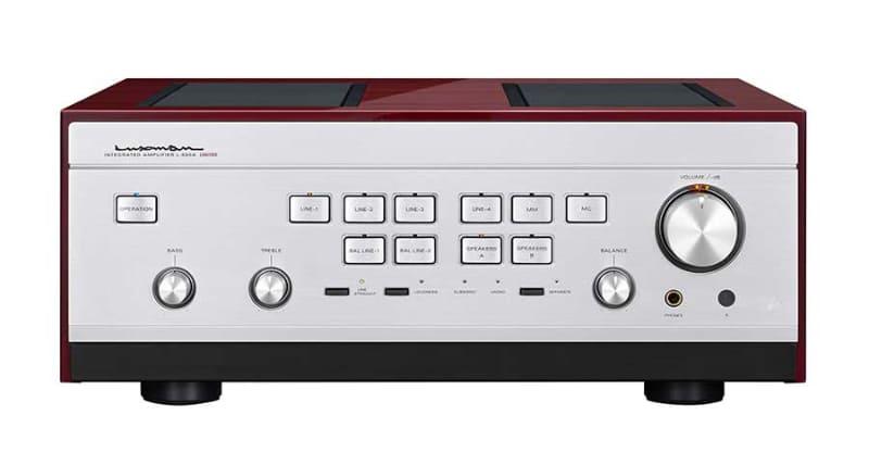 ラックスマンのプリメイン「L-595A Limited」。限定300台で98万円