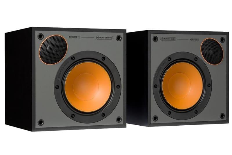 Monitor Audioのブックシェルフ「Monitor 50」。ペアで3.3万円