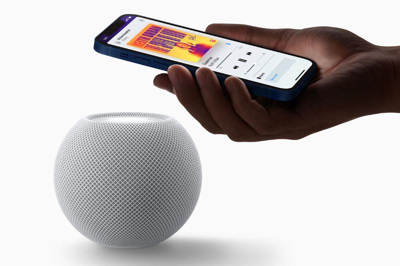 アップルのスマートスピーカー「HomePod mini」。10,800円