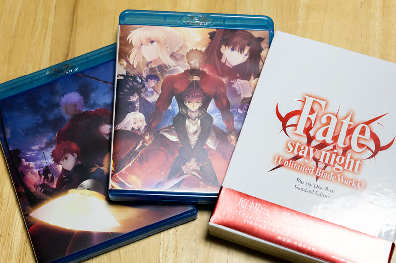 「Fate/stay night [Unlimited Blade Works]」BD BOX Standard Edition