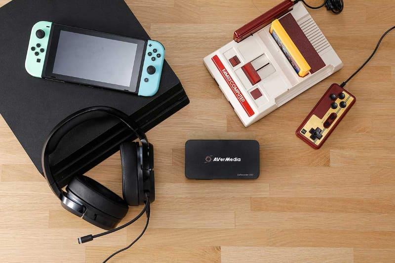 レトロゲーム機などの配信/録画ができる。
