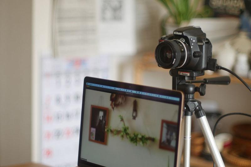 古い一眼をWebカメラとして再利用