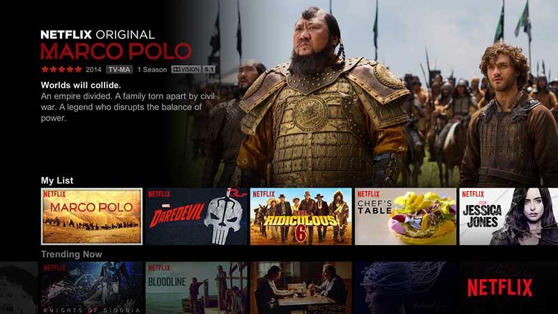Netflixは、2016年4月にHDRコンテンツの配信を開始。Dolby Vision対応のLG製テレビなどで楽しむことができた