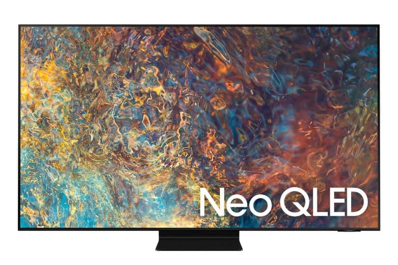 サムスンがCES2021で発表した、最新の液晶テレビ「Neo QLED」。量子ドット技術とミニLEDが搭載されている