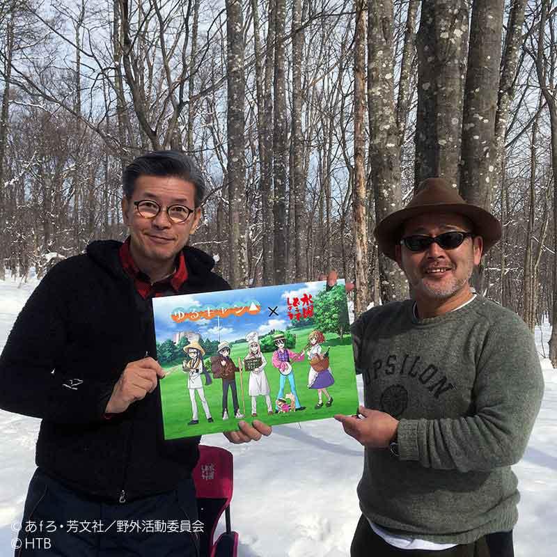 「水曜どうでしょう」の嬉野雅道ディレクター(左)と藤村忠寿ディレクター(右)