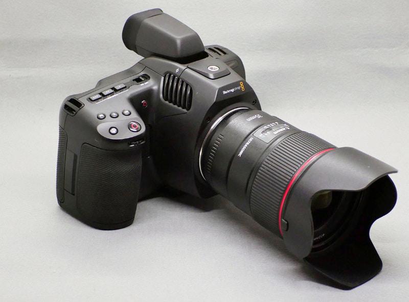 今年2月に発売されたばかりのBlackmagic Pocket Cinema Camera 6K Pro