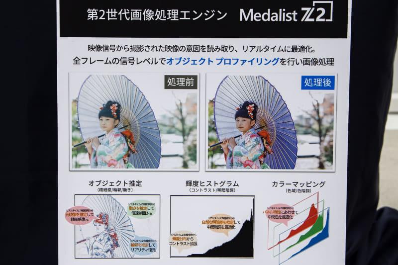 Medalist Z2で行なっている画像処理