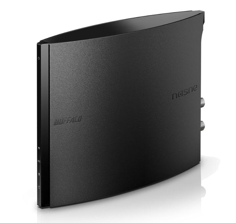 バッファロー製のネットワークレコーダー「nasne」(NS-N100)