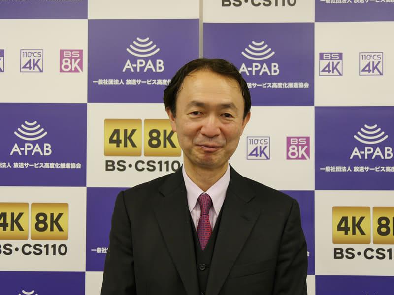 BSフジ常務取締役 荒井昭博氏