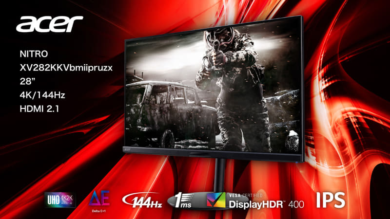Acer「XV282KKVbmiipruzx」 6月24日 約11.8万円