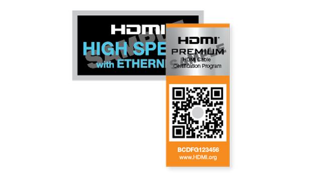 「Premium High Speed HDMIケーブル」のロゴ
