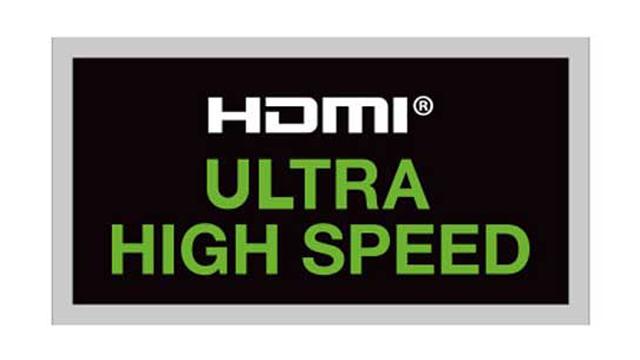 「Ultra High Speed HDMIケーブル」のロゴ
