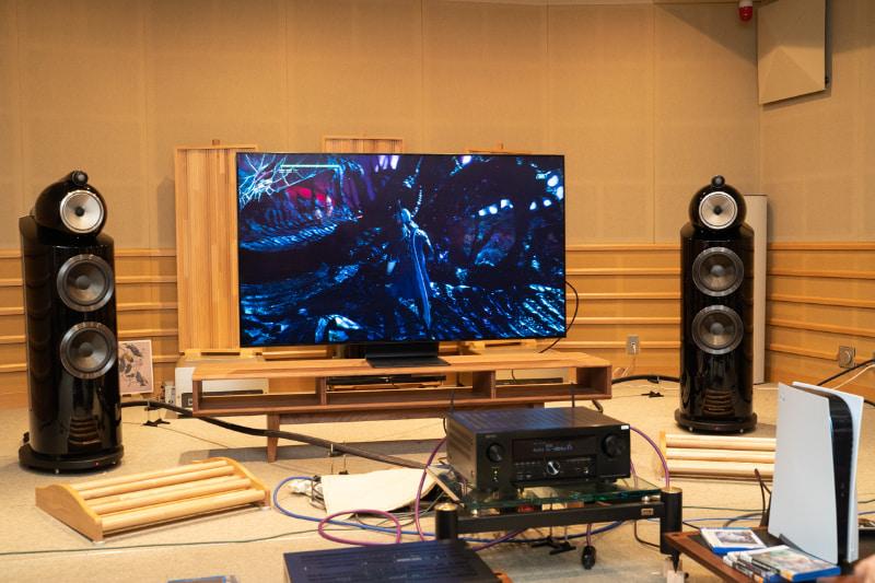 映画だけでなく、PS5×AVR-X4700Hのゲームプレイも迫力満点だ