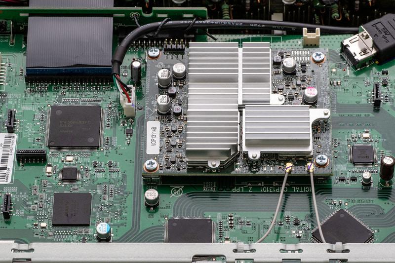 HEOSモジュールを搭載しているので、ネットワークプレーヤーとしても使える