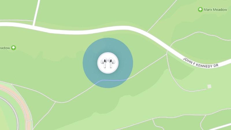 紛失したAirPods Pro/AirPods Maxを、「探す」アプリから見つけられるようになる