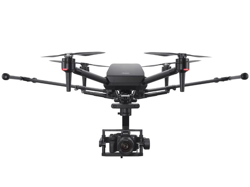 Airpeakの第一弾モデル「Airpeak S1」。写真のジンバルやカメラは別売
