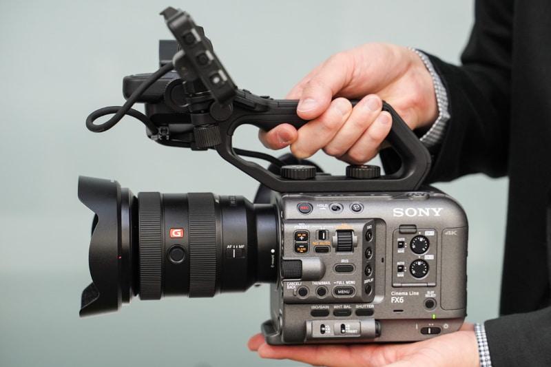 ソニーのCinema Lineカメラ「FX6」