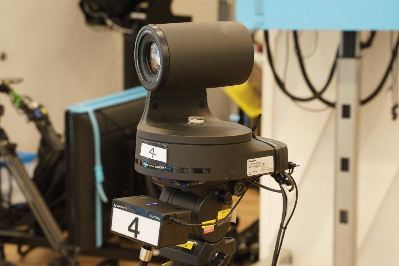 これまでの撮影で使われていたリモートカメラ