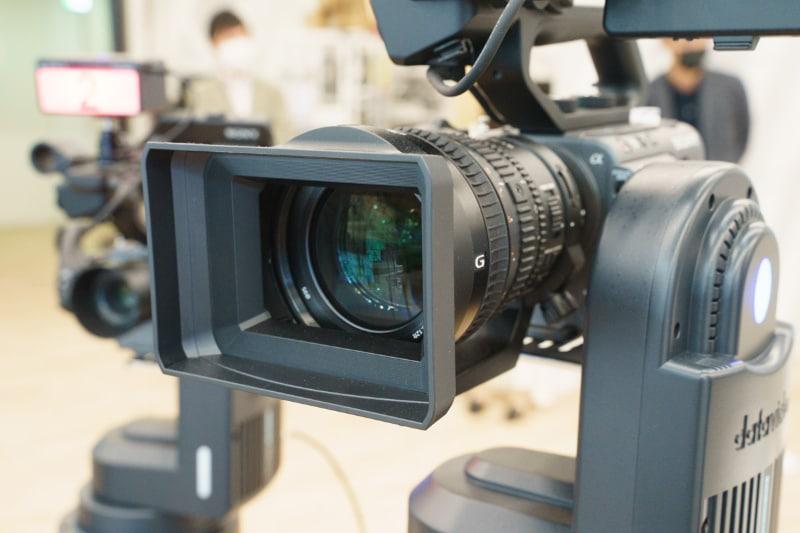 撮影スタジオに導入されたFX6