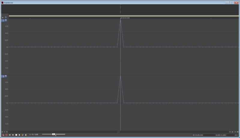インパルス音をSOUND FORGE Proを使って作成