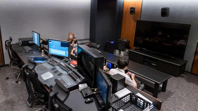 ソニーPCL「渋谷スタジオ」の8K編集室